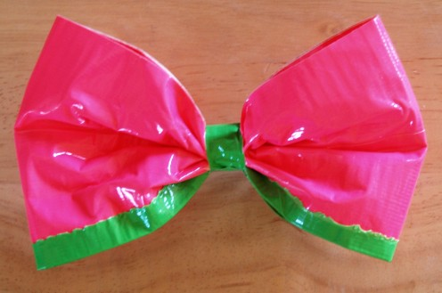 Duct Tape Hair Bow