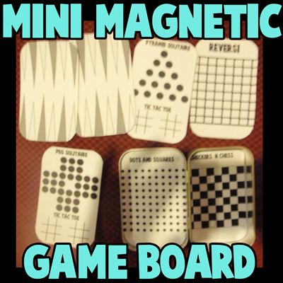 Magnetic Travel Board Game Set