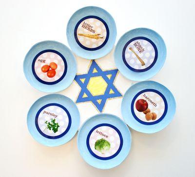 Star of David Seder Plate