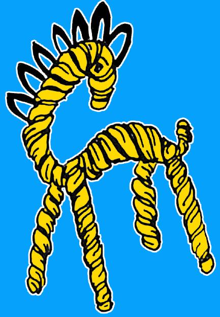 Finished Wire Giraffe