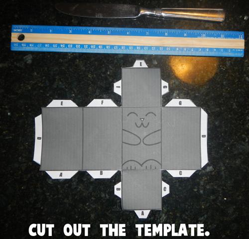 Cut Out Cat Template