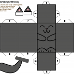 black-cat-paper-foldable-toy-template