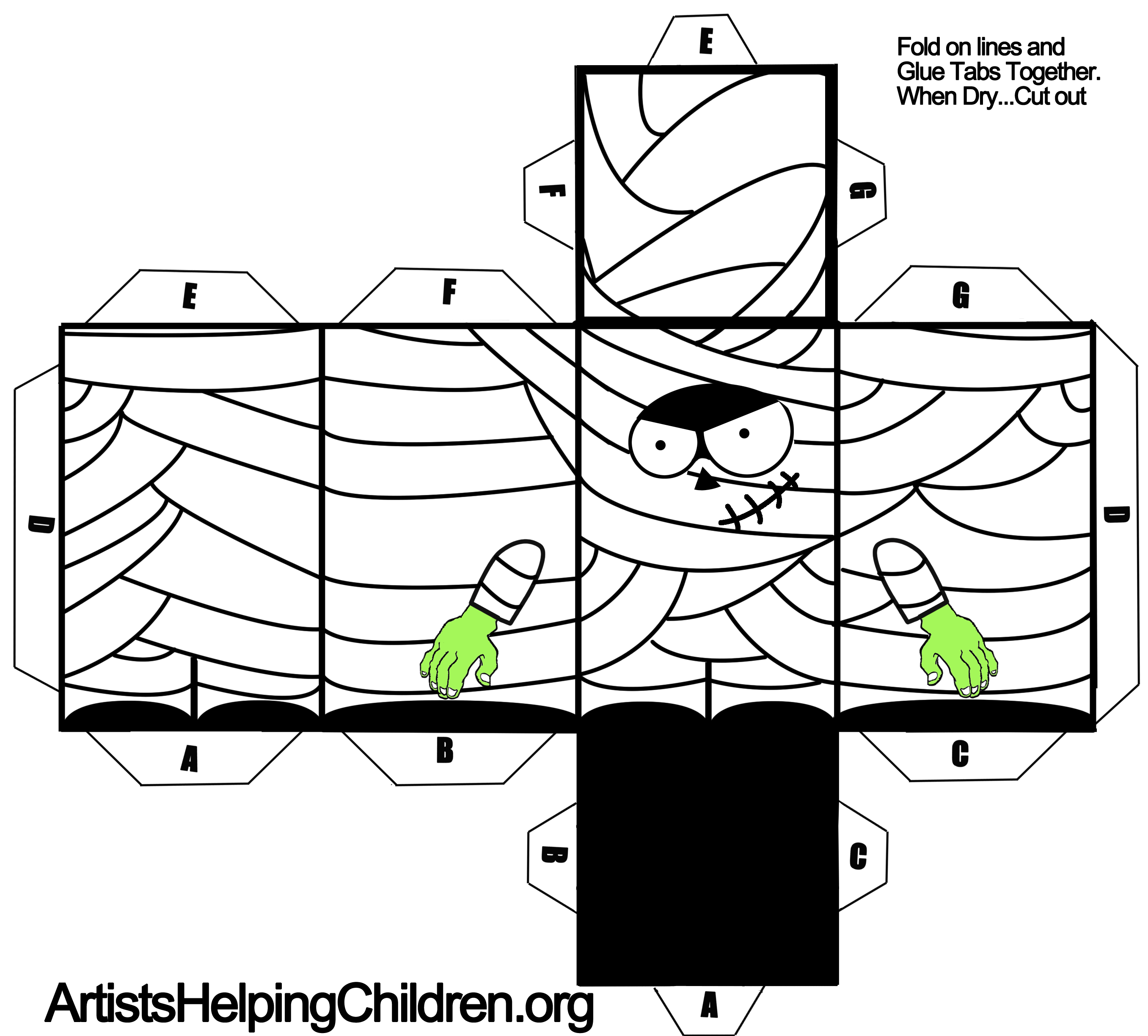 foldable paper templates - Ideal.vistalist.co