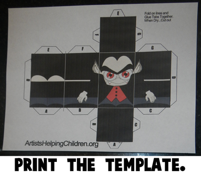 Step 1 Print the Template