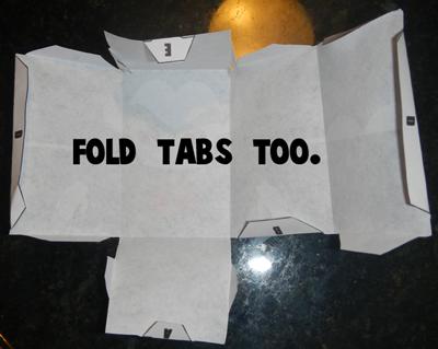 Step 5 Fold Tabs
