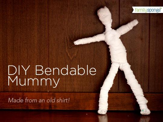 Bendable Mummy