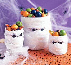 Mummy Candy Holder