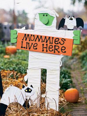 Mummy Sign