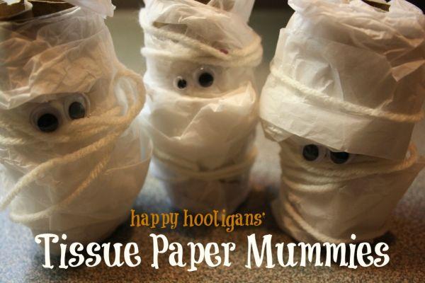 Tissue Paper Mummies