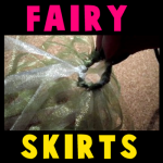 How to make Fairy Skirts for Costumes on Halloween