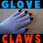 How to make a Glove with claws for Halloween