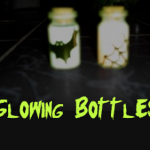 How to make Glowing bottles for Halloween