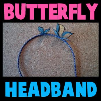 Butterfly Headbands