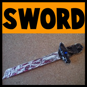 How to Make a Toy Sword for Halloween or for Play - Kids