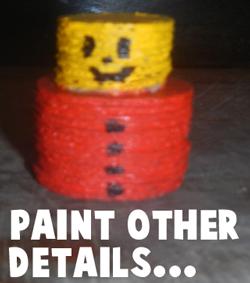 Paint other details.