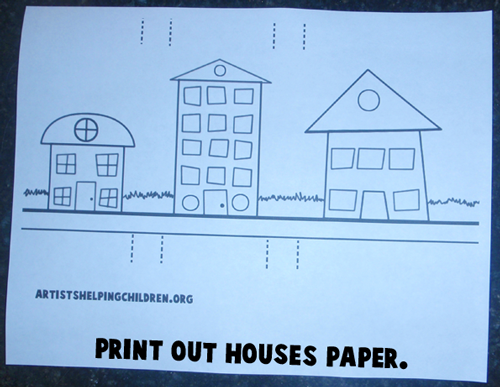 Print out houses paper