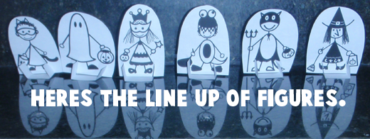 Here's the line up of figures.