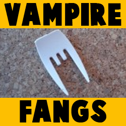 How to make Vampire Teeth and Fangs for Halloween