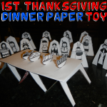How to Make Paper Thanksgiving Table Toys