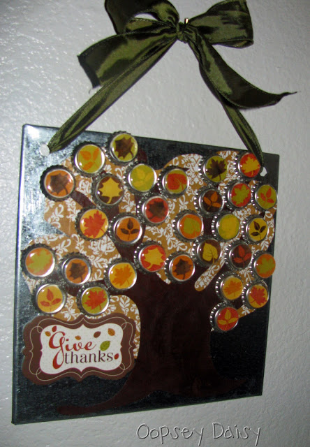 Gratitude Tree Advent Calendar