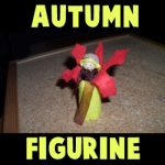 How to Make Autumn Dolls or Figurines in Easy Craft Idea for Kids