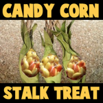 How to make Candy Corn Stalks for Thanksgiving treats