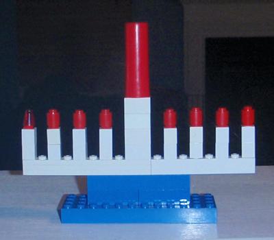 Lego Menorah 2