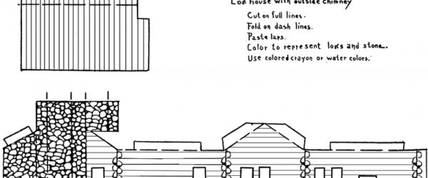 Log Cabin Template
