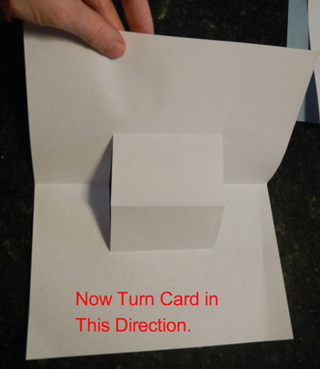 Now turn card in this direction.