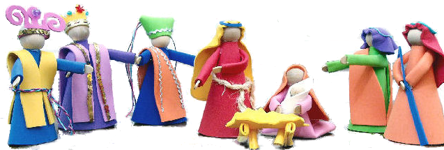 Foam Nativity Craft