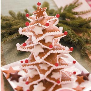 Gingerbread Star Tree