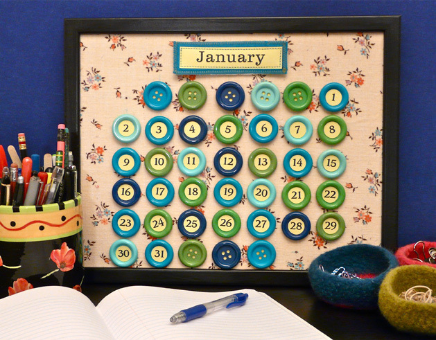 Calendar Craft For Kids : Some really cool perpetual calendar crafts for the new