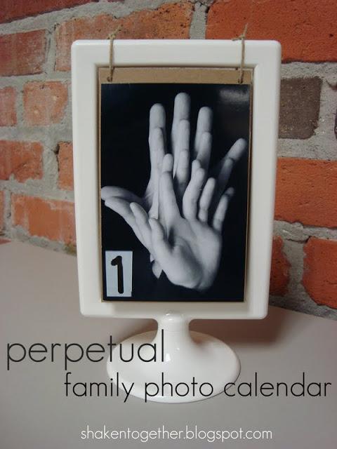 Perpetual Family Photo Calendar