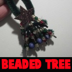 How to Make Beaded Christmas Tree Ornaments