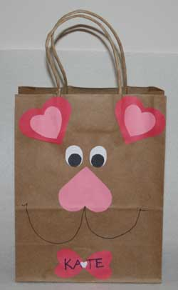 Bear Valentine Bag