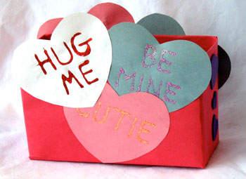 Conversation Heart Mailbox