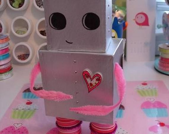 Robot Valentine's Day Box
