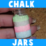 Chalk Pastel Jars
