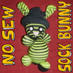 How to Make a Simple No-Sew Sock Bunny Rabbit for Easter or for Fun