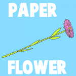 How to Make Paper Flowers - Make a Daisy for Mom on Mothers Day