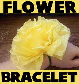 Flower Bracelets to Make for Mom on Mothers Day or For Easter