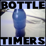 How to Make Glitter Bottle Timers for Kids