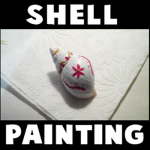 How to Make a Painted Snail or Sea Shell Crafts Ideas for Kids