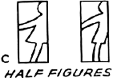 Draw Half Figures