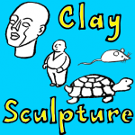 How to Sculpt Clay Heads & Bodies and a Turtle and Mouse