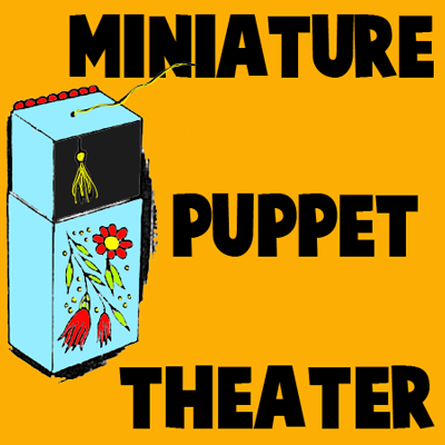 How to Make a Mini Puppet Theater with a Matches Box