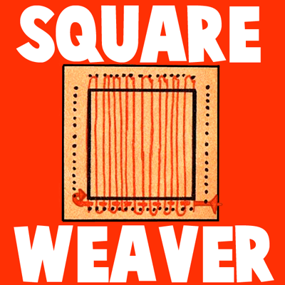 How to Make Square Cardboard Weaving Looms