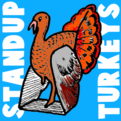 How To Make Paper Stand Up Turkey Centerpieces For Thanksgiving