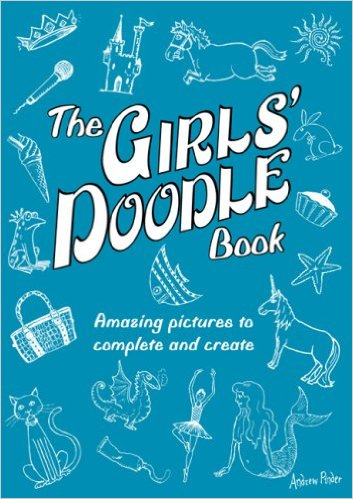 girls' doodle book