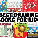 list of best drawing books for young kids, preschoolers, homeschooled kids